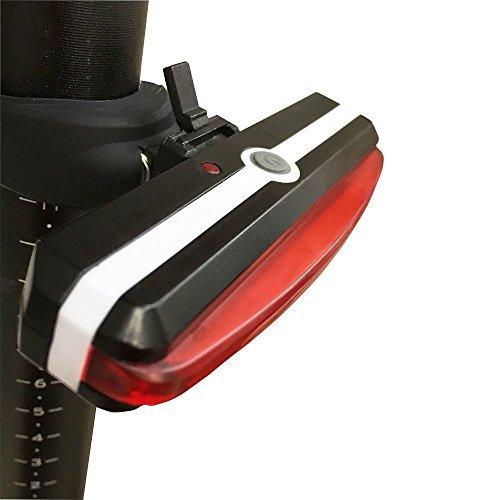 Awnic Luz Trasera USB Recargable para Bicicleta Piloto Trasero LED 26 Chips...