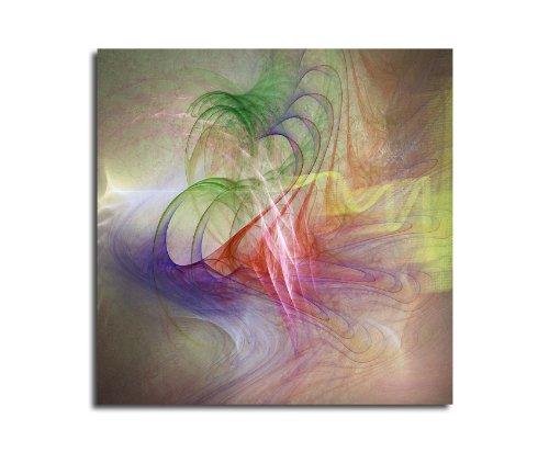 Moderne abstrakt040_60 x 60 cm sur toile motif abstrait intérieur décoration indémodable, 047