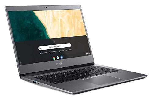 Acer Chromebook 714, Intel Pentium Gold 4417U, 14.0' Full HD Display, 8GB DDR4, 64GB eMMC, microSD Card Reader, 802.11ac WiFi 5, Backlit Keyboard, Fingerprint Reader, Chrome OS, CB714-1W-P3CK