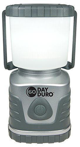 UST 60DAY Duro LED Portable 1200 Lumen Lantern with Lifetime LED Bulbs and Hook for Camping Hiking Emergency and Outdoor Survival