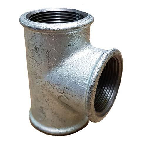 T-Stück 1 1/4 Zoll Temperguss verzinkt_- = -_ Auch Stahlrohr Rohrbogen T-Stück Reduziermuffe Überwurfverschraubung Stopfen Doppelnippel Stopfen Rückschlagventil Kugelhahn bei uns!