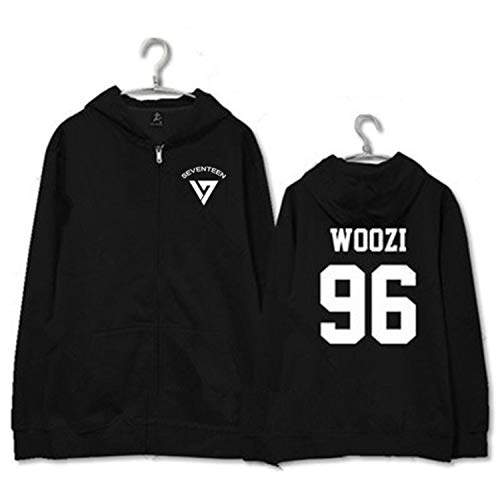 Einson Mainlead KPOP Seventeen Zipper Hoodie Going Sweatershirt Coat Pullover Athlete