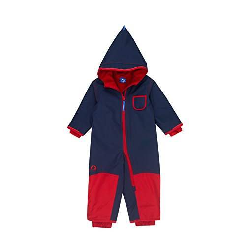 Finkid Pikku Winter navy red Kinder Ski & Schneeanzug Winter Outdoor Overall