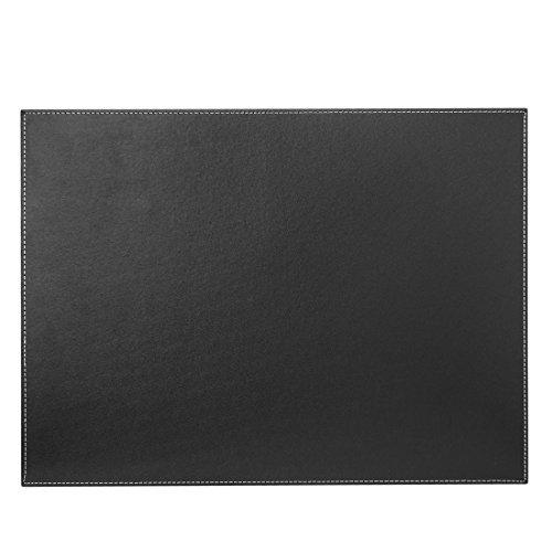 FOKOM Vade de Escritorio de Piel - 60 x 45 cm - Vade de Sobremesa Escritorio