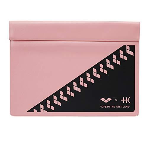 arena(アリーナ) プールバッグ クラッチプルーフバッグ +K (プラスケー) コレクション KKAR-103 (PNK)ピンク×ブラック フリーサイズ