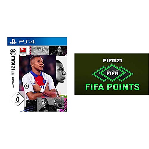 FIFA 21 Champions Edition [PS4] + 1050 FIFA Points [PS4 Download Code]