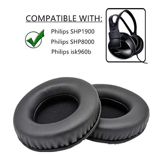Ersatz-Ohrpolster für Philips SHP1900 SHP8000 isk960b  Headset gepolsterte Überzüge für Kopfhörer