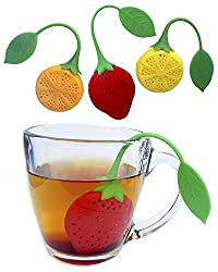 Fruit shaped tea infuser. A lovely, useful, and cheap baby shower favor.