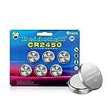 Pila de Botón de Litio CR2450 de 3 V CR 2450 6...