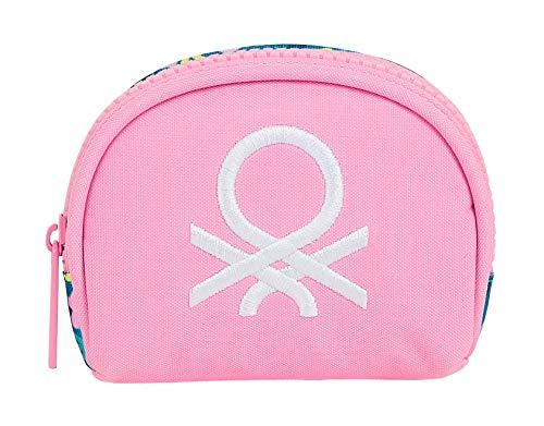 safta M725, Accesorio de viaje- Billetera Unisex niños, Rosa/Multicolor, Pequeño