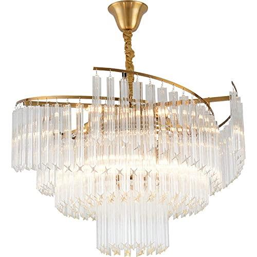 Lámpara de techo de cristal para salón, estilo Hong Kong, extravagante, creativa,...
