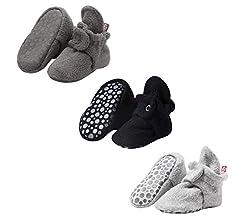 Zutano Cozie Fleece Baby Booties