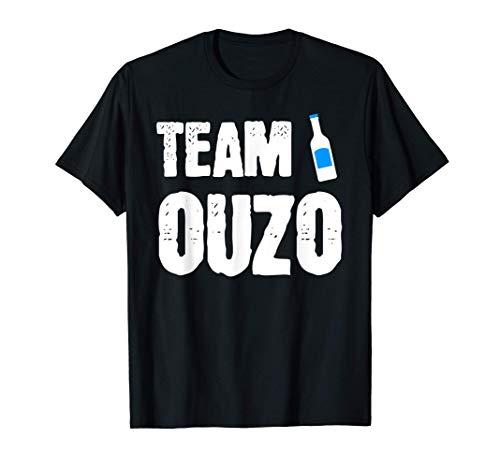 Ouzo Griechenland Alkohol Schnaps Geschenk T-Shirt