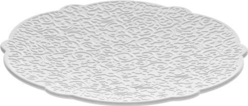 Alessi MW01/79 Dressed Sottotazza da tè, Porcellana, Bianco