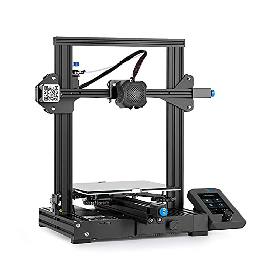 YILUFA CREALITY Ender 3 V2 3D Printer Integrated Structure Design With Resume Printing Function DIY 3D Printers Printing Size 220x220x250mm