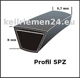 A265 Greenstar 12876 Courroie Lisse Trap/ézo/ïdale 13 x 8 x 670 mm