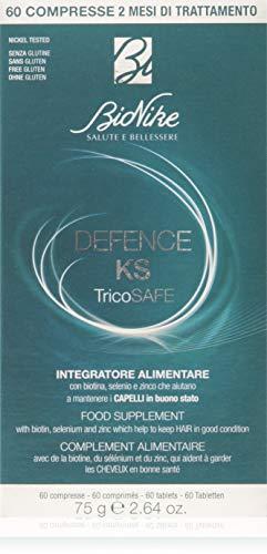 BioNike DEFENCE KS Tricosafe - Integratore alimentare, 60 Compresse