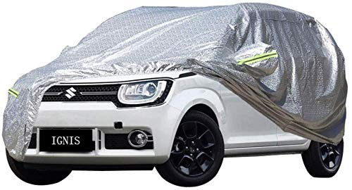 ZhuFengshop Autohoes Suzuki Ignis speciale SUV dik Oxford stof bescherming tegen de zon, warm, winddicht, regenbescherming, stofbescherming, plafond, binnen en buiten, krasbestendig