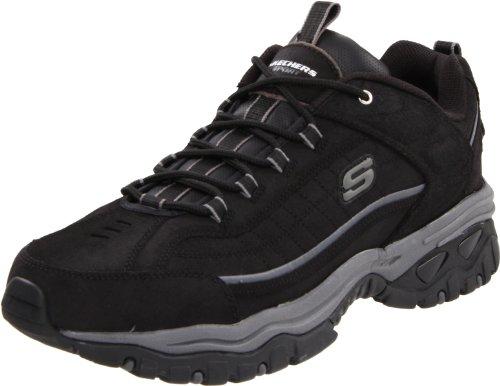 Skechers Men's Energy Downforce Lace-Up Sneaker,Black,12 M US