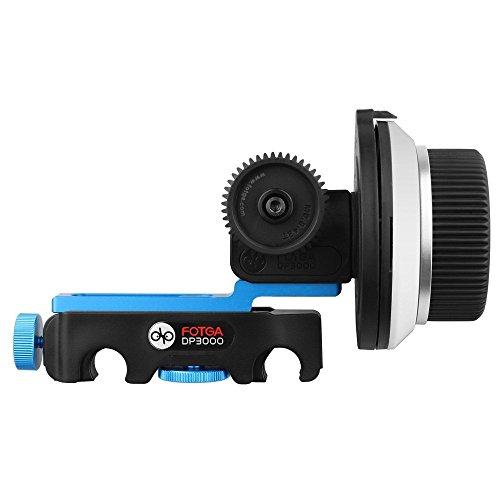 Fotga DP3000 M3 Quick Release Follow Focus for Matte Box 15mm Rail Rod Rig Nikon Canon Sony DSLR Cameras
