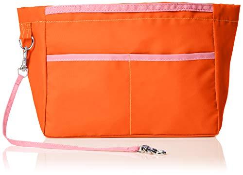 [カバンの中身] リバーシブル バッグインバッグ リルビー レギュラー オレンジ(オレンジ/ピンク)