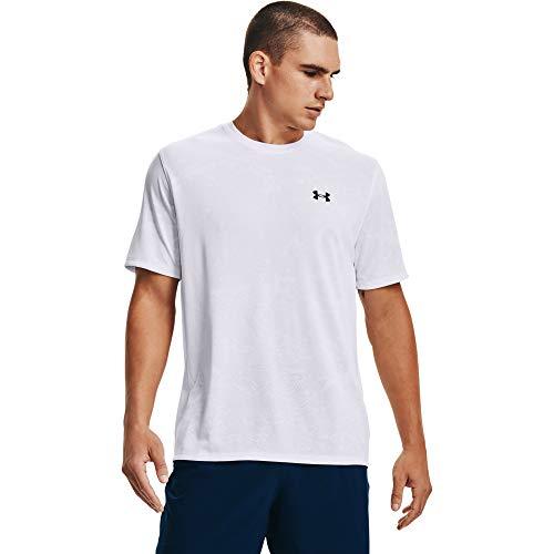 Under Armour Men's Training Vent Camo Short-Sleeve T-Shirt , White (100)/Black , Medium