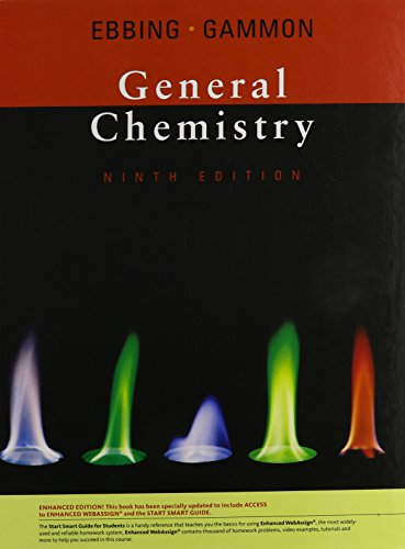 General Chemistry (Available 2010 Titles Enhanced Web Assign Available 2010 Tit)