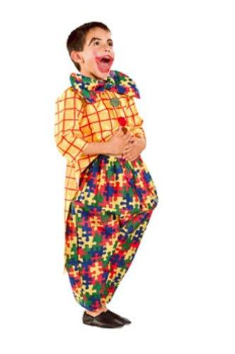 Cesar - L585-003 - Costumes - Clown Puzzle Cintre - 3/5 ans