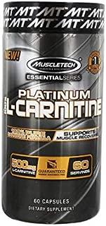 Muscletech Platinum 100% L-Carnitine - 60 caps.