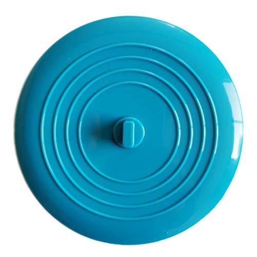 1 pz-Tappi di Scarico 15 cm / 6 Pollici Tappo Universale in Silicone per Vasca per cucine Bagno Lavanderia Doccia Vasca da Bagno Accessori per lavelli - (Blu)