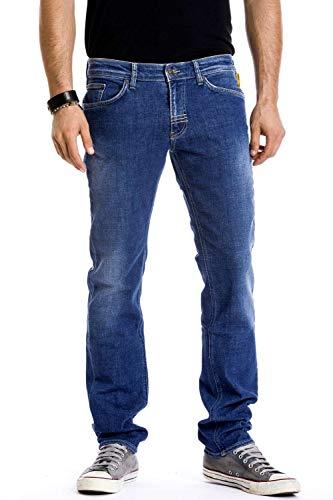 Meltin'Pot - Jeans Maner per Uomo, vestibilità Slim, Vita Regular IT 43