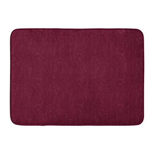 LIS HOME Badvorleger Rot Burgunder Kastanienbraun Moire Muster Solide Claret Wein Farbe Badezimmer Dekor Teppich