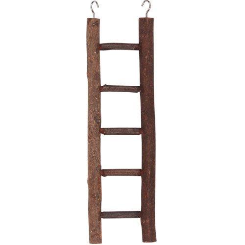 Kerbl 83131 Leiter 5-sprossig aus Naturholz