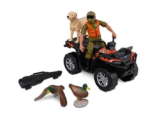 NKOK 1: 18 Realtree 8Piece Polaris Sportsman Duck Hunting Playset