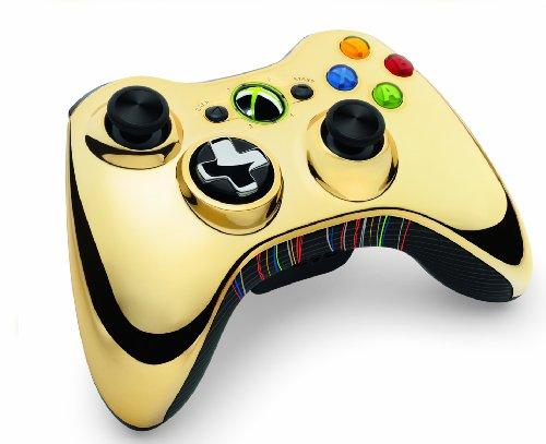 Xbox 360 Wireless Controller - Gold, C-3PO Edition