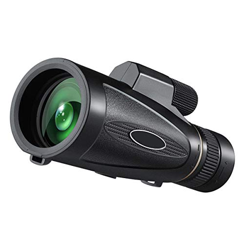 Yhgpom Portable18x62 Outdoor Single Mini HD Monocular Cell Phone Camera Lens TelescopeSuit for Hiking Camping Bird Watching Best Gifts for Men Child