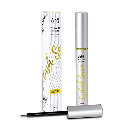 Eyelash Growth Serum & Eyebrow Enhancer - Lash Brow Booster Serum for...