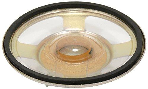 Visaton K 57 C - Lautsprecher (Deckenmontage möglich, Universal, Neodym, 350 - 6800 Hz, Schwarz, Verkabelt)