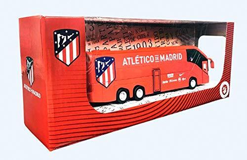 Eleven Force Atlético Madrid Autobús réplica Real 20 Cm, Color Rojo, Ninguna (63652)