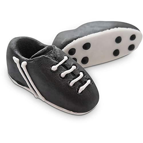 60 Stück Bombasei Zucker / Marzipan Fussball Schuhe, 1066 g