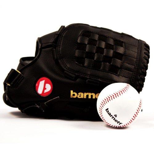 BARNETT GBJL-2 Baseball Set, Handschuh & Ball, Senior, PU (JL-120, TS-1)