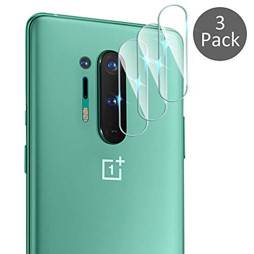 Diruite 3-Pack für OnePlus 8 Pro HD Kamera Panzerglas Schutzfolie,Kameraschutz Perfekte Passform für OnePlus 8 [Anti-Scratch] [HD Glas]