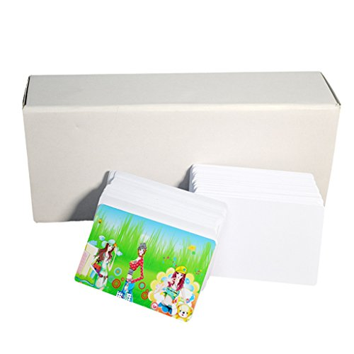 Tarjetas en blanco para imprimir con impresora de chorro de tinta Epson Canon, de PVC, de Emore