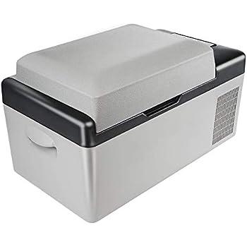Amazon.es: KUNFINE DC: 12V / 24V CA: 110V / 240V Refrigerador de ...
