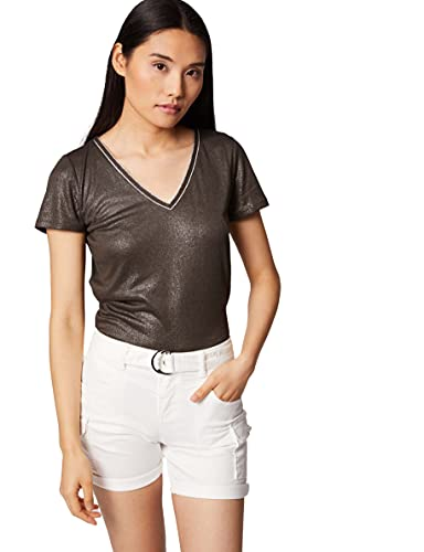 Morgan Tshirt DERVI Camiseta, marrón, S para Mujer