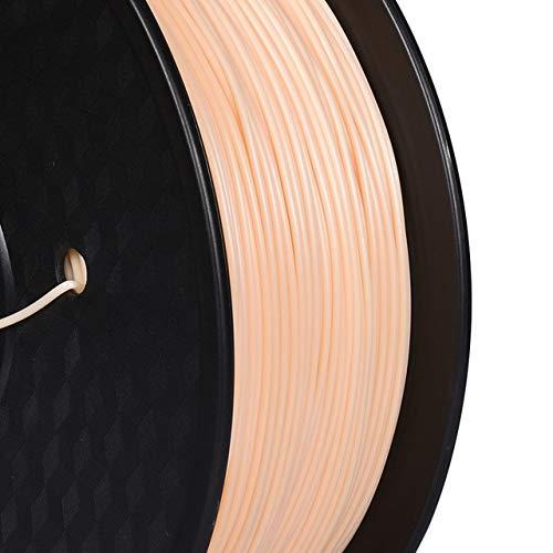 DZWLYX Stampante 3D filamento PLA 1,75 Millimetri 1KG plastica filamento Materiale RepRap Createbot/MakerBot for Parti della Stampante 3D / Penna 3D (Color : Skin)