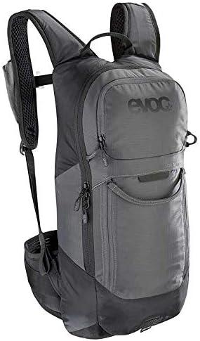 Direct sale of manufacturer Evoc FR Lite Max 90% OFF Race Protector Backpack Grey Black Carbon 10L