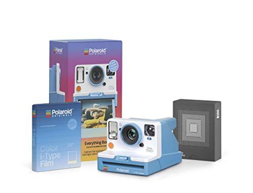 Polaroid Originals 4939 - Everything Box Summer Blue (1 Camera + 1 Pack of Film + 1 Archive Box)