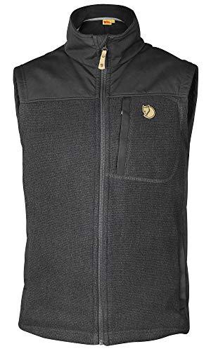 FJÄLLRÄVEN Herren Buck Fleece Unterhemd, Grau (Graphite 031), Large (Herstellergröße: L)