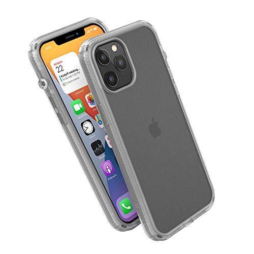 Influence Series Case Designed for iPhone 12 Pro Max, Compatible with MagSafe, Patented Rotated Mute Switch, Drop Proof, Crux Accessories Attachment System, by Catalyst - Clear